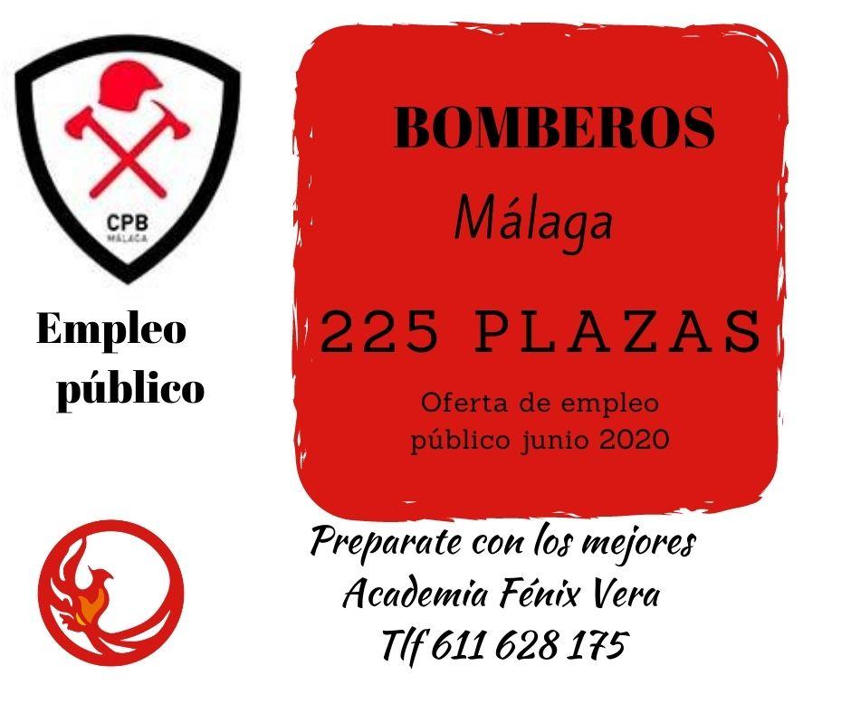 OFERTA EMPLEO BOMBEROS MÁLAGA